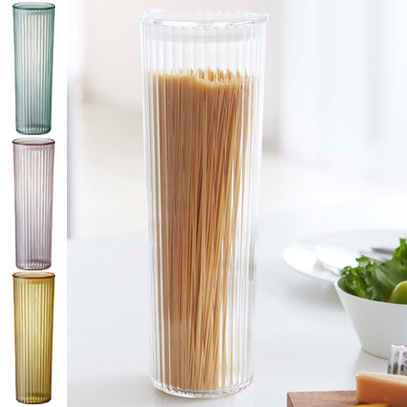 Storage containers condiments put pasta pot canister FONTE Fonte L 1700ml (kitchen supplies past case past bottle spaghetti spaghetti made of plastic)
