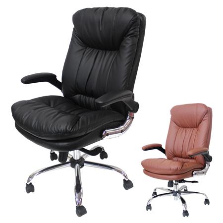 オフィスチェア ポケットコイルオフィスチェア ビートル ( 送料無料 デスクチェア パソコンチェア レザー調 イス いす チェア PCチェアー オフィスチェアー 事務椅子 肘付き )