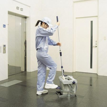 モップ絞り器 スクイザー コンドル ジョイステップ 送料無料 ( 脚踏みタイプ 掃除 掃除用具 清掃 )