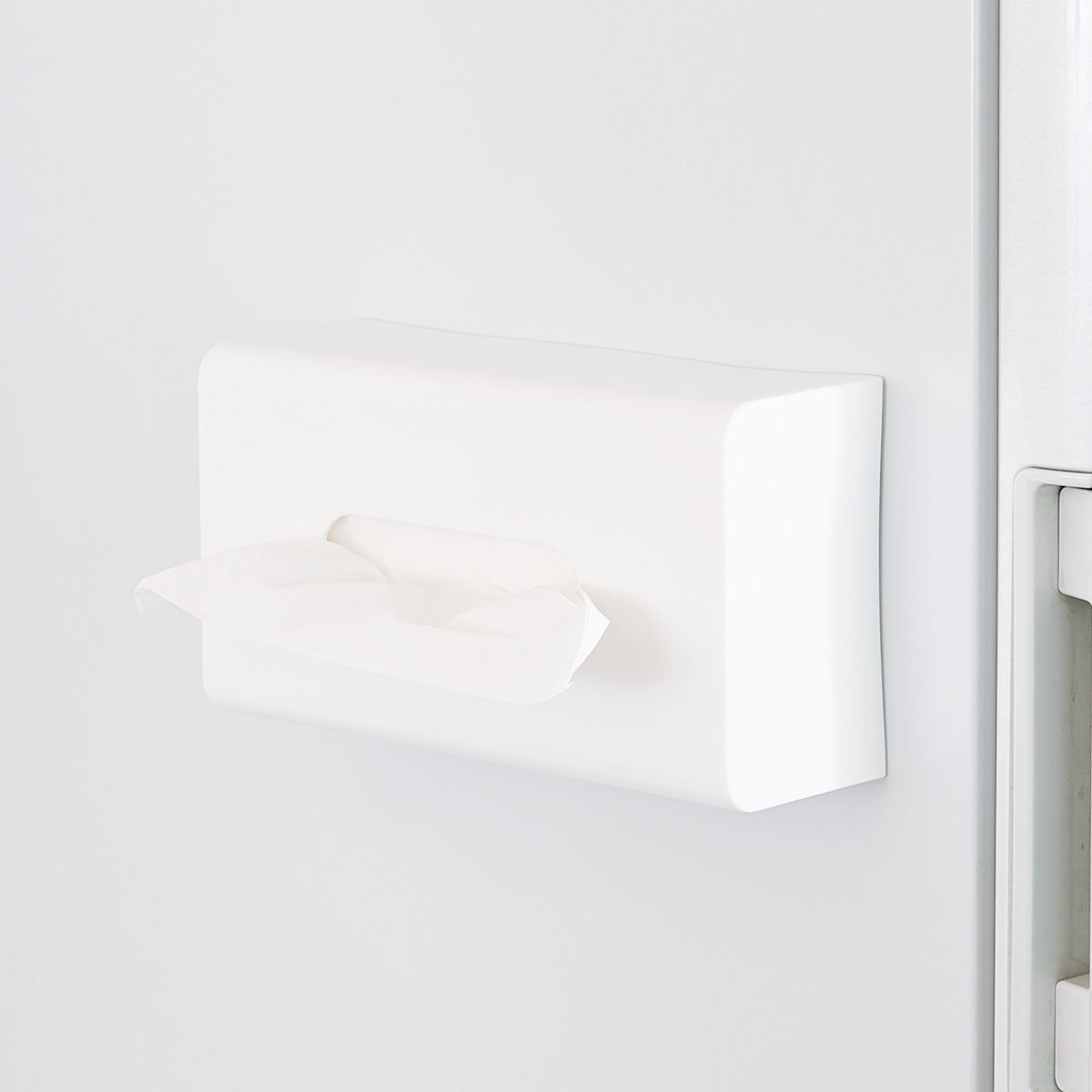 Tissue Holder Magnetboxtish Mag On Magnet Fridge Storage Box Paper Kitchen Beside