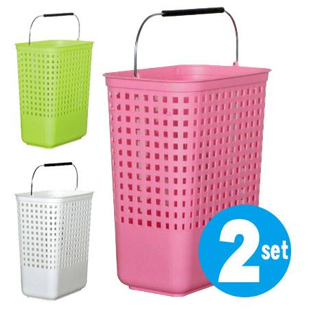 livingut two laundry basket slim basket sets laundry. Black Bedroom Furniture Sets. Home Design Ideas