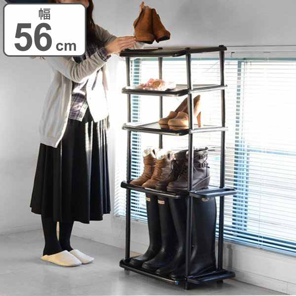 Shoe rack shoes rack long five-stage (boots storage slim saving space shoe box storage rack rack shoes shoes box umbrella stand shoe box shoes into boots ...  sc 1 st  Rakuten & livingut | Rakuten Global Market: Shoe rack shoes rack long five ...