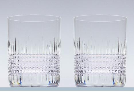 秀逸 Baccarat バカラ専門店だから出来る激安直輸入 2-811-580 送料無料 バカラ ナンシー ペアグラス箱入り 1301-292x2 2811-580 選択 タンブラーグラス ロックグラス 2