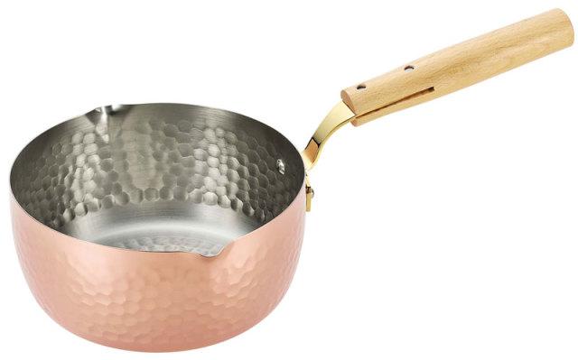 アサヒ 匠のこだわり 食楽工房 純銅 雪平鍋 1.9L CNE313 日本製 メイド・イン・ツバメ