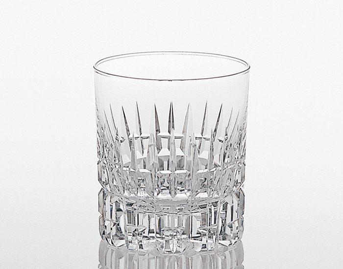名入れグラス 代引き不可 カガミクリスタル KAGAMI CRYSTAL 冷酒杯 タンブラーグラス ロックグラス T483-642レリーフ料込み グラス名入れ化粧箱入り