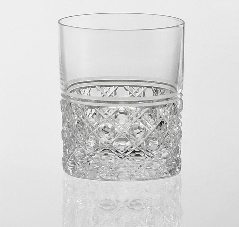 名入れグラス 代引き不可 誕生日用 カガミクリスタル KAGAMI CRYSTAL ロックグラス タンブラーグラス T444-1 レリーフ 彫刻 エッチング 料金込み グラス名入れ