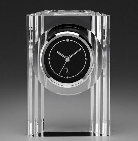 カガミクリスタル KAGAMI CRYSTAL Q432 オプティカルクロック 置時計