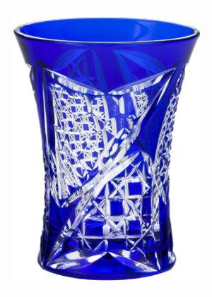 送料無料東洋佐々木ガラス八千代切子 杯(矢絣柄やがすりがら) グラス LS19758SULM-C688 木箱入り