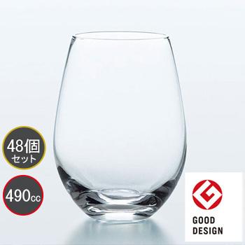 東洋佐々木ガラス 48個セット タンブラー ウォーターバリエーション HS強化グラス T-24102HS プロユース 業務用 家庭用 グッドデザイン賞受賞