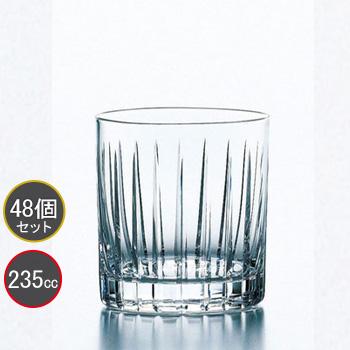 東洋佐々木ガラス 48個セット オンザロック タンブラー ラムダ HS強化グラス T-27907HSC-C559 プロユース 業務用 家庭用 コップ 家飲み ウィスキーグラス バーアイテム