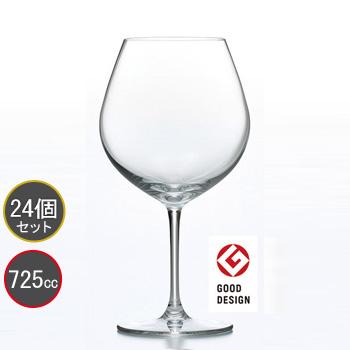東洋佐々木ガラス 24個セット PALLONE (パローネ) ブルゴーニュ ワイングラス RN-10285CS ファインクリスタル・イオンストロング プロユース 業務用 家庭用 バーアイテム