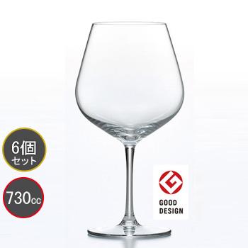 東洋佐々木ガラス 6個セット DIAMANT (ディアマン) ブルゴーニュ ワイングラス RN-11285CS ファインクリスタル・イオンストロング プロユース 業務用 家庭用 バーアイテム