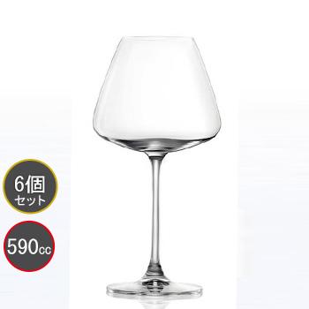 東洋佐々木ガラス 6個セット DESIRE (デザイアー) ブルゴーニュ RN-13285CS ファインクリスタル・イオンストロング プロユース 業務用 家庭用 バーアイテム ワイングラス