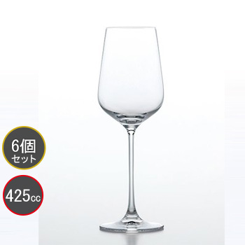 東洋佐々木ガラス 6個セット MONTAGNE (モンターニュ) ワイン RN-12236CS ファインクリスタル・イオンストロング プロユース 業務用 家庭用 バーアイテム ワイングラス