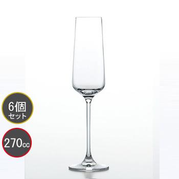 東洋佐々木ガラス 6個セット MONTAGNE (モンターニュ) シャンパン RN-12254CS ファインクリスタル・イオンストロング プロユース 業務用 家庭用 バーアイテム ワイングラス
