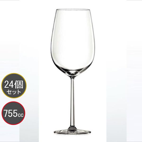 東洋佐々木ガラス 24個セット VERAISON (ヴェレゾン) ボルドー RN-14283CS ファインクリスタル・イオンストロング プロユース 業務用 家庭用 バーアイテム ワイングラス