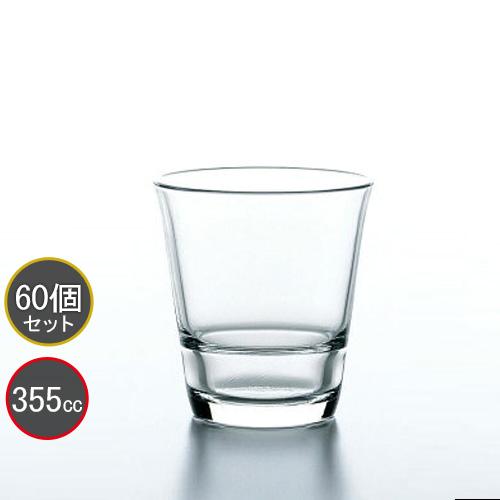 東洋佐々木ガラス 60個セット タンブラー 12オンス フリーグラス HS強化グラス P-52102HS スタックタンブラー プロユース 業務用 家庭用 バーアイテム