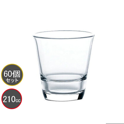 東洋佐々木ガラス 60個セット タンブラー 7オンス フリーグラス HS強化グラス P-52103HS-JAN (クリア) スタックタンブラー プロユース 業務用 家庭用 バーアイテム