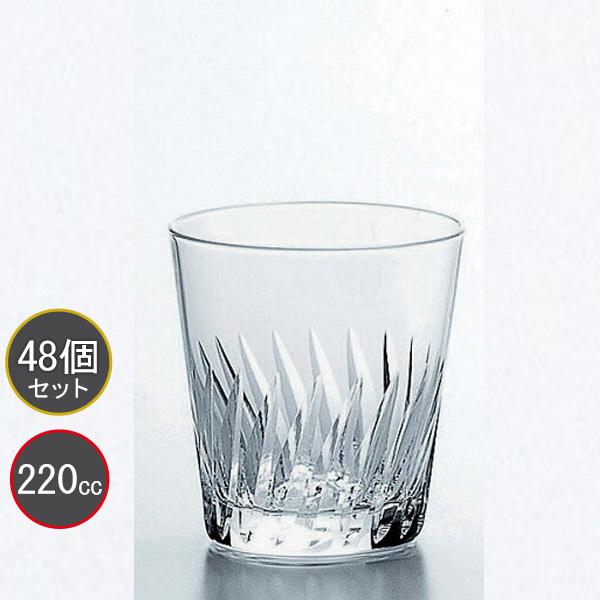 東洋佐々木ガラス 48個セット 7オンスタンブラーグラス ナック・フェザー HS強化グラス T-20105HS-2 プロユース 業務用 家庭用 コップ 家飲み ウィスキーグラス バーアイテム
