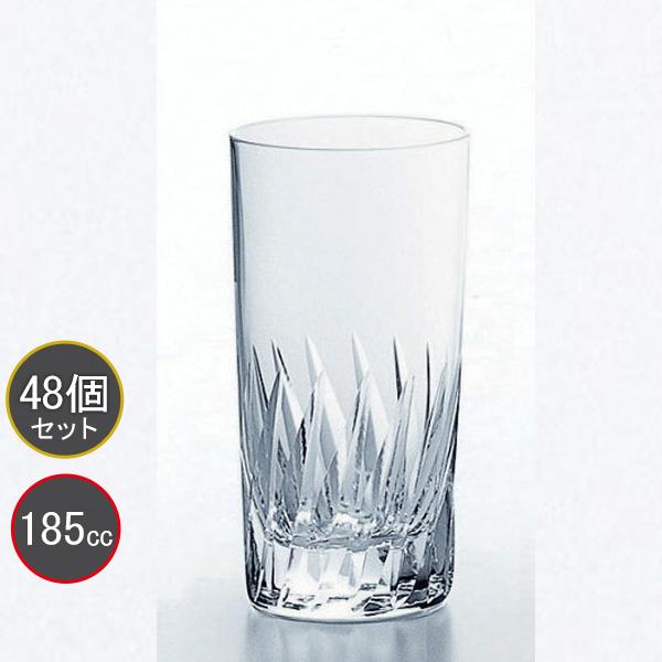 東洋佐々木ガラス 48個セット 37タンブラーグラス(高さ3.7寸) ナック・フェザー HS強化グラス T-20107HS-2 プロユース 業務用 家庭用 コップ 家飲み ウィスキーグラス バーアイテム