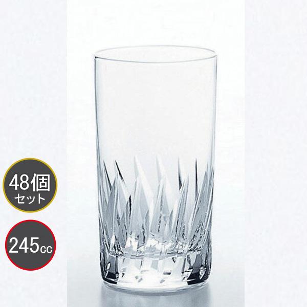 東洋佐々木ガラス 48個セット 38タンブラーグラス(高さ3.8寸) ナック・フェザー HS強化グラス T-20106HS-2 プロユース 業務用 家庭用 コップ 家飲み ウィスキーグラス バーアイテム