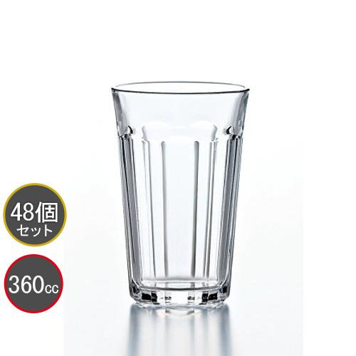 東洋佐々木ガラス 48個セット ピチカート 12オンスタンブラー HS強化グラス P-01205HS プロユース 業務用 家庭用 コップ 家飲み バーアイテム