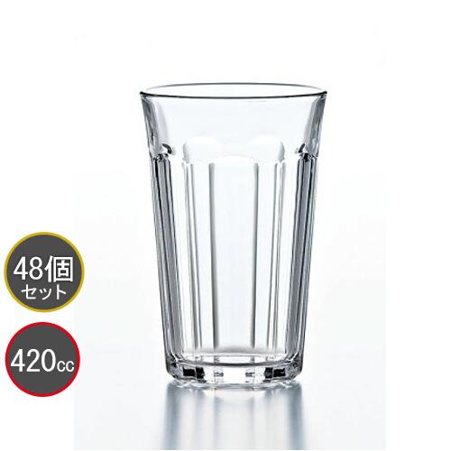 東洋佐々木ガラス 48個セット ピチカート 14オンスタンブラー HS強化グラス P-01204HS プロユース 業務用 家庭用 コップ 家飲み バーアイテム