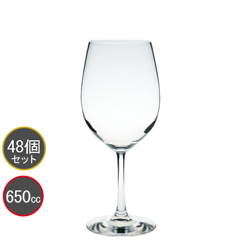 東洋佐々木ガラス 48本セット ペティオ-ル ボルドー ワイングラス 30M83CS HS強化グラス プロユース 業務用 家庭用 コップ 家飲み バーアイテム