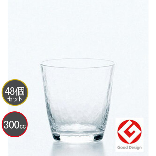 東洋佐々木ガラス 48個セット 高瀬川 オンザロック 18709 ハンドメイド プロユース 業務用 家庭用 コップ 家飲み バーアイテム