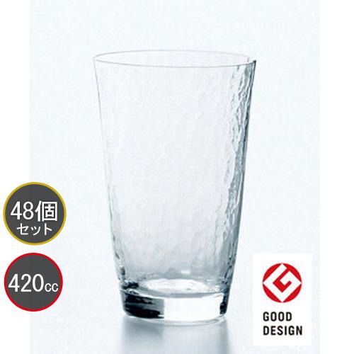 東洋佐々木ガラス 48個セット 高瀬川 タンブラー 18714 ハンドメイド プロユース 業務用 家庭用 コップ 家飲み バーアイテム