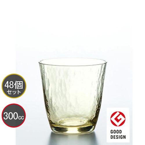 東洋佐々木ガラス 48個セット 高瀬川 琥珀 オンザロック 18709DGY ハンドメイド プロユース 業務用 家庭用 コップ 家飲み バーアイテム
