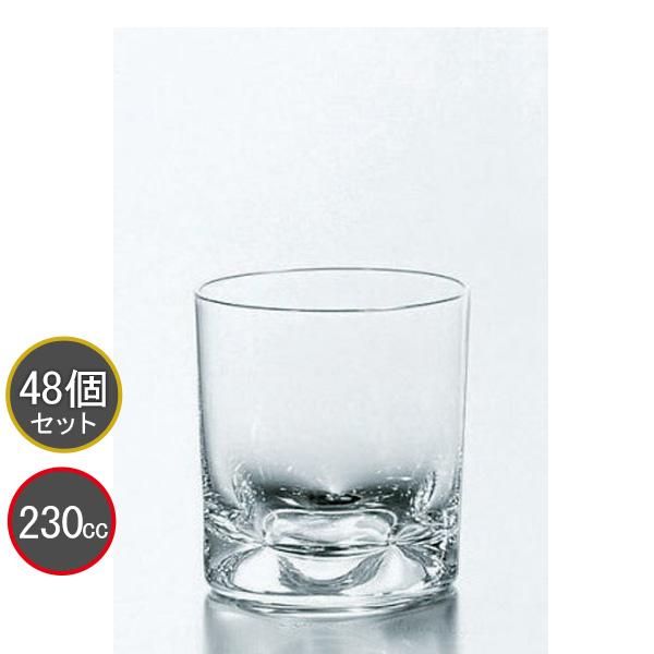 東洋佐々木ガラス 48個セット ファインピンチ オンザロック タンブラー T-17907 プロユース 業務用 家庭用 コップ 家飲み ウィスキーグラス バーアイテム