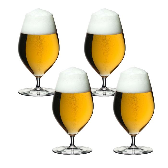 4本購入でポイント5倍 送料無料・包装無料 リーデル リーデル・ヴェリタス 6449/11 ビアー ≪4本セット≫ ビール