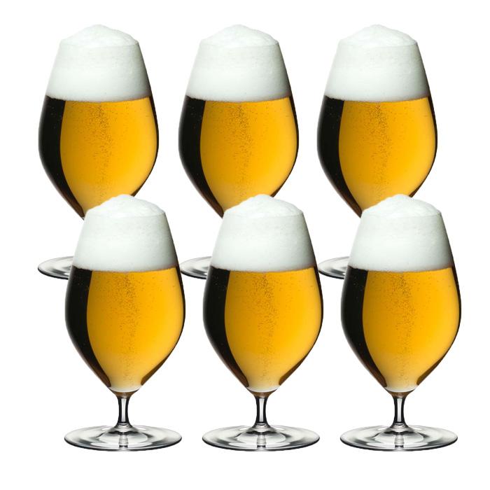 6本購入でポイント5倍 送料無料・包装無料 リーデル リーデル・ヴェリタス 6449/11 ビアー ≪6本セット≫ ビール