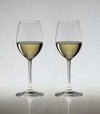 名入れグラス 代引き不可 送料無料・包装無料 RIEDEL リーデル ヴィノム(ビノム) ワイングラス ソーヴィニオン・ブラン/デザートワイングラス 6416/33 ≪ペア≫ レリーフ料込み グラス名入れ