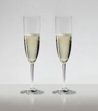 名入れグラス 代引き不可 結婚の御祝 送料無料・包装無料 リーデル ヴィノム(ビノム) ワイングラス シャンパン ≪ペアグラス≫ 6416/8 6416/08 レリーフ エッチング 名入れ 彫刻 刻印料込み グラス名入れ