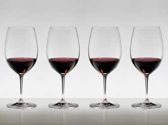 4本購入でポイント5倍 送料無料・包装無料 RIEDEL リーデル ヴィノム(ビノム) ワイングラス ボルドー ≪4本セット≫ 6416/0