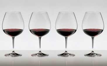 送料無料・包装無料 RIEDEL リーデル ヴィノム(ビノム) ワイングラス ブルゴーニュ ≪4本セット≫ 6416/7 6416/07 ピノ・ノワール