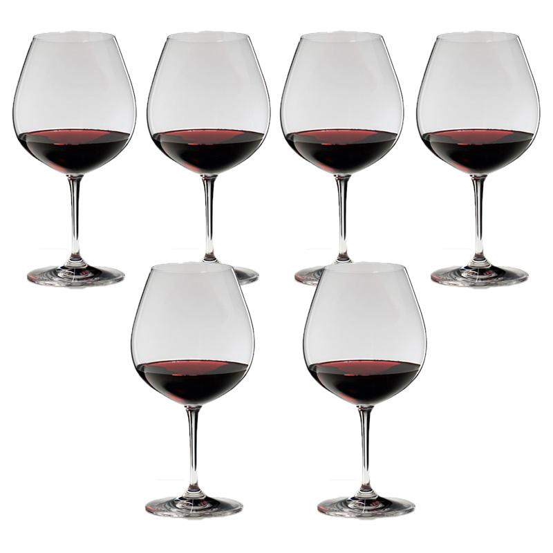 リーズナブル価格と豊富なバリエーションで世界の傑作ワインを楽しんでいただける<ヴィノム>シリーズです。 送料無料・包装無料 RIEDEL リーデル ヴィノム(ビノム) ワイングラス ブルゴーニュ ≪6本セット≫ 6416/7 6416/07