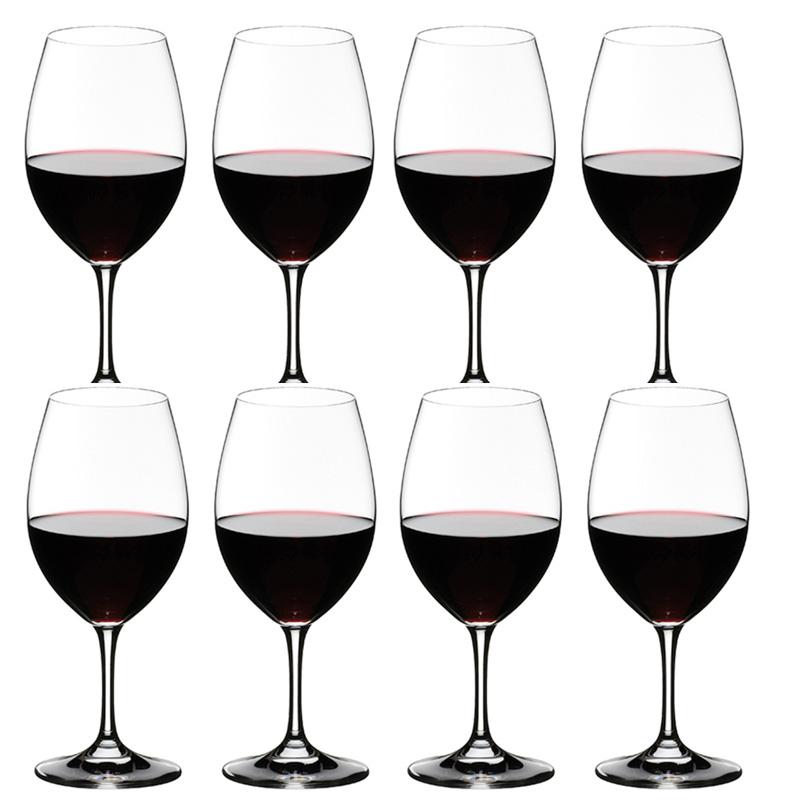 送料無料・包装無料 RIEDEL リーデル オヴァチュア(オバチュア) ワイングラス 6408/00 レッドワイン 赤ワイン <8本セット> overture