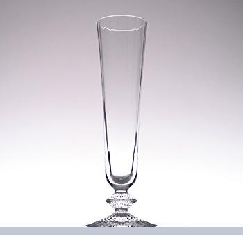 送料無料 Baccarat バカラ ミルニュイ シャンパンフルート 2104-722