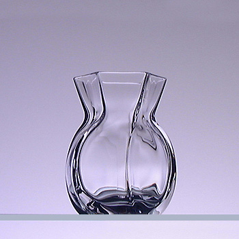 送料無料 Baccarat バカラ コローユ ベース 花瓶 2101-433