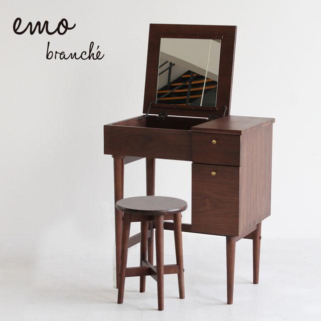 ICIBA 市場 emo branche [エモブランシェ] ドレッサー&スツール セット EMM-3140BR