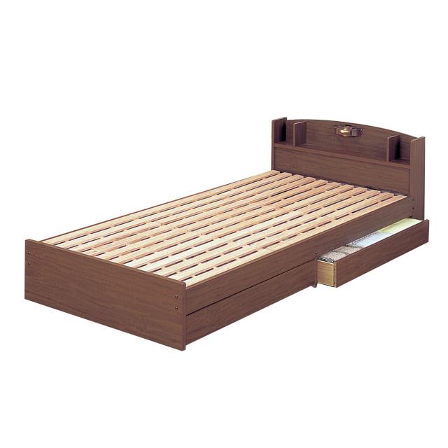 【送料無料】クロシオ 木製すのこベッド ECOロングベッド 14215