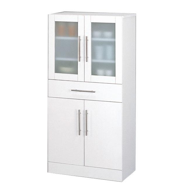 【送料無料】クロシオ カトレア 食器棚 60-120 23463