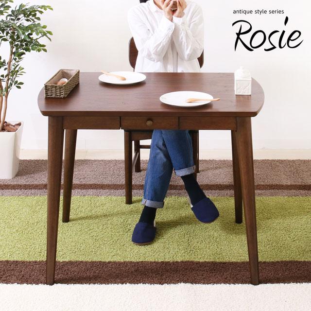 【送料無料】ヤマソロ Rosie ロージー ダイニングテーブル 幅90cm 82-634