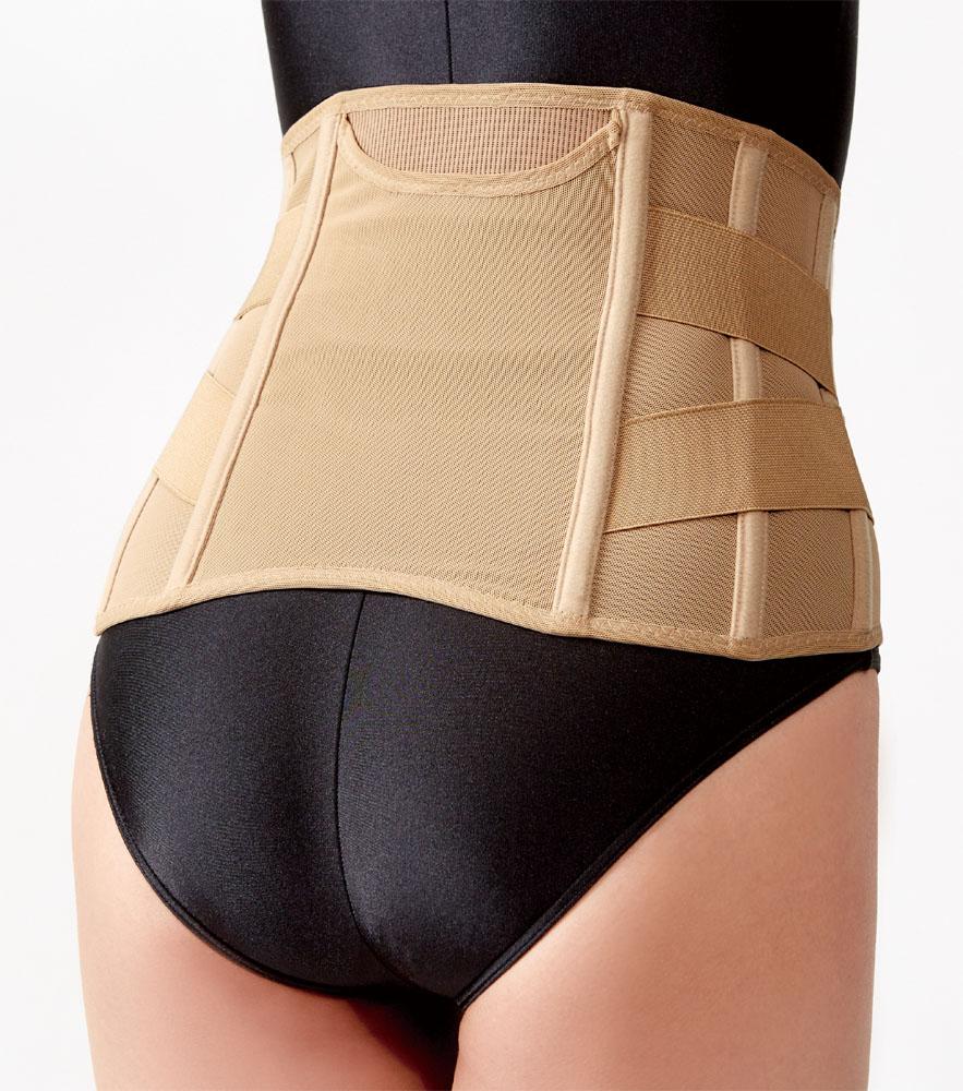 物品 8本のボーンでウエスト全体を引き締めて腰椎をサポート ショップ セルヴァン カイロ入ポケット付 薄型ウエストベルトDX