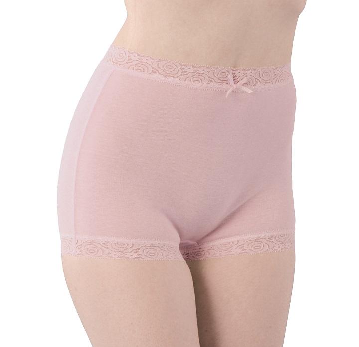 綿100%の肌に優しい一分丈ショーツ3色組 セルヴァン 祝日 ストア 綿100%深ばき一分丈ショーツ3色組
