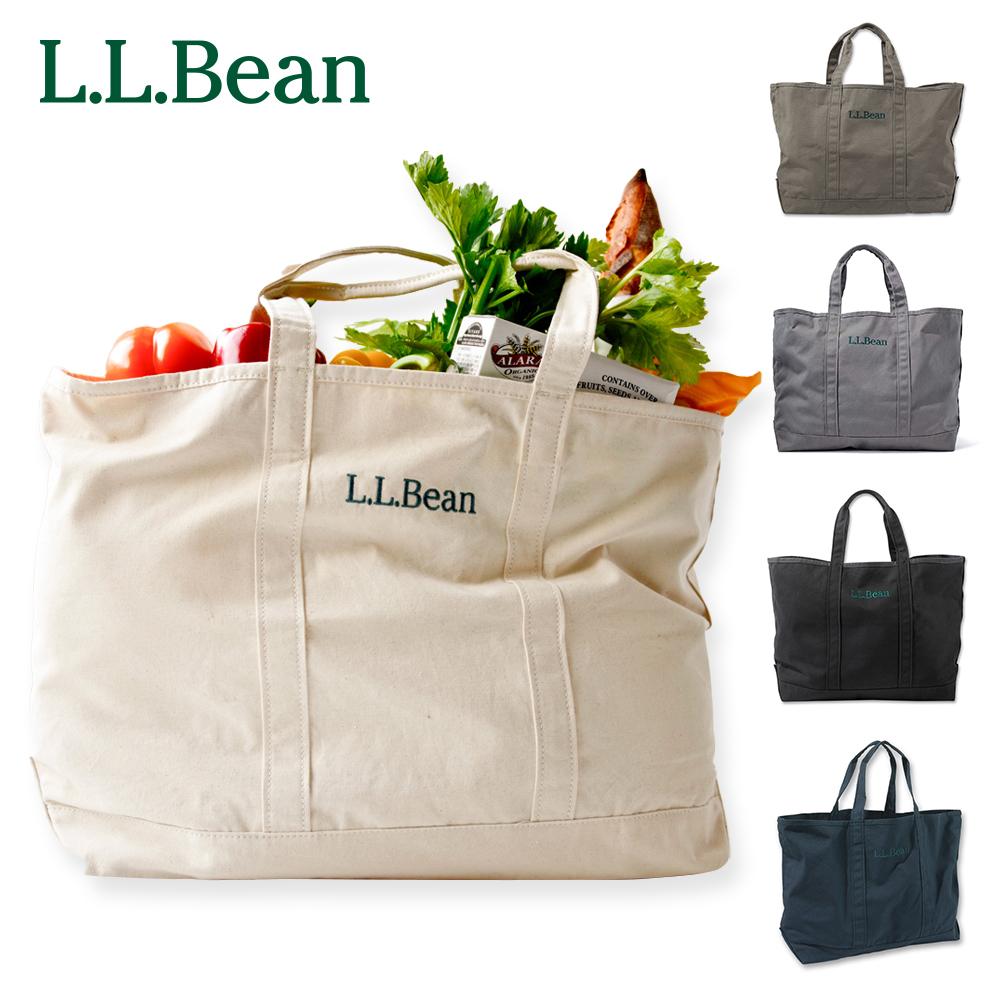 L.L.Bean llビーン l.l.bean アウトドア ファッション クーポン利用で10%OFF ~8 市販 29まで エルエルビーン 優先配送 メンズ グローサリー 公式 トートバッグ キャンバス トート レディース