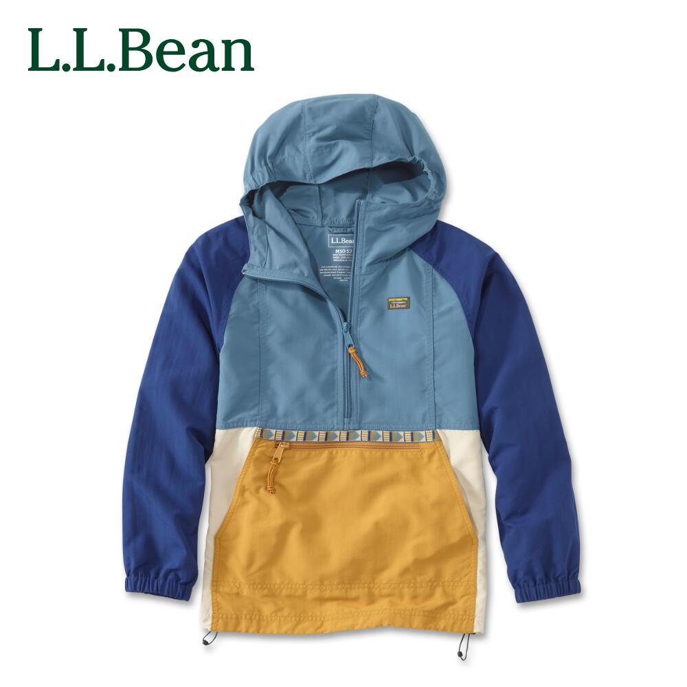 L.L.Bean llビーン l.l.bean アウトドア ファッション 送料無料 公式 エルエルビーン ビッグキッズ マルチカラー 大特価 アノラック マウンテン [宅送] 4色 4サイズ クラシック キッズ